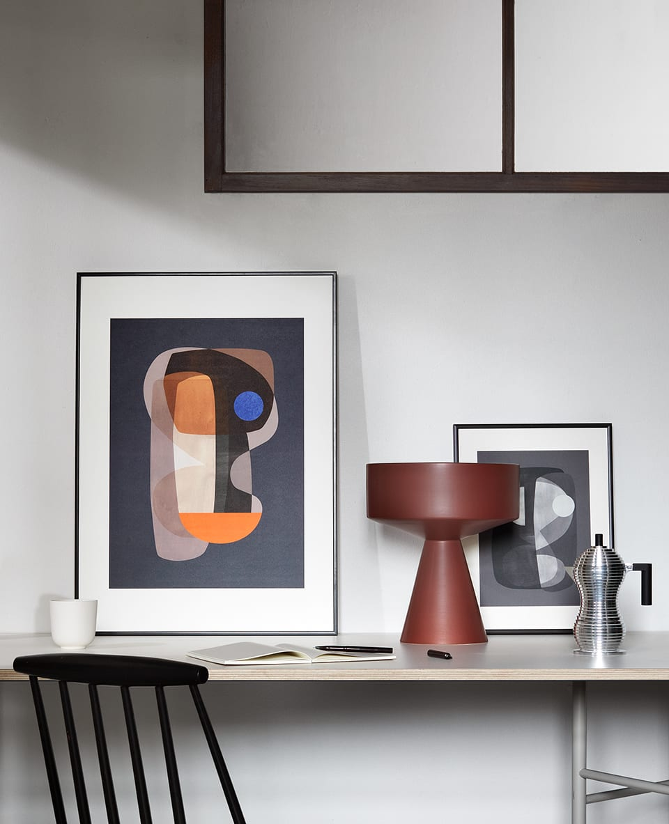 Atelier Cph x THE POSTER CLUB - Abstract cubism